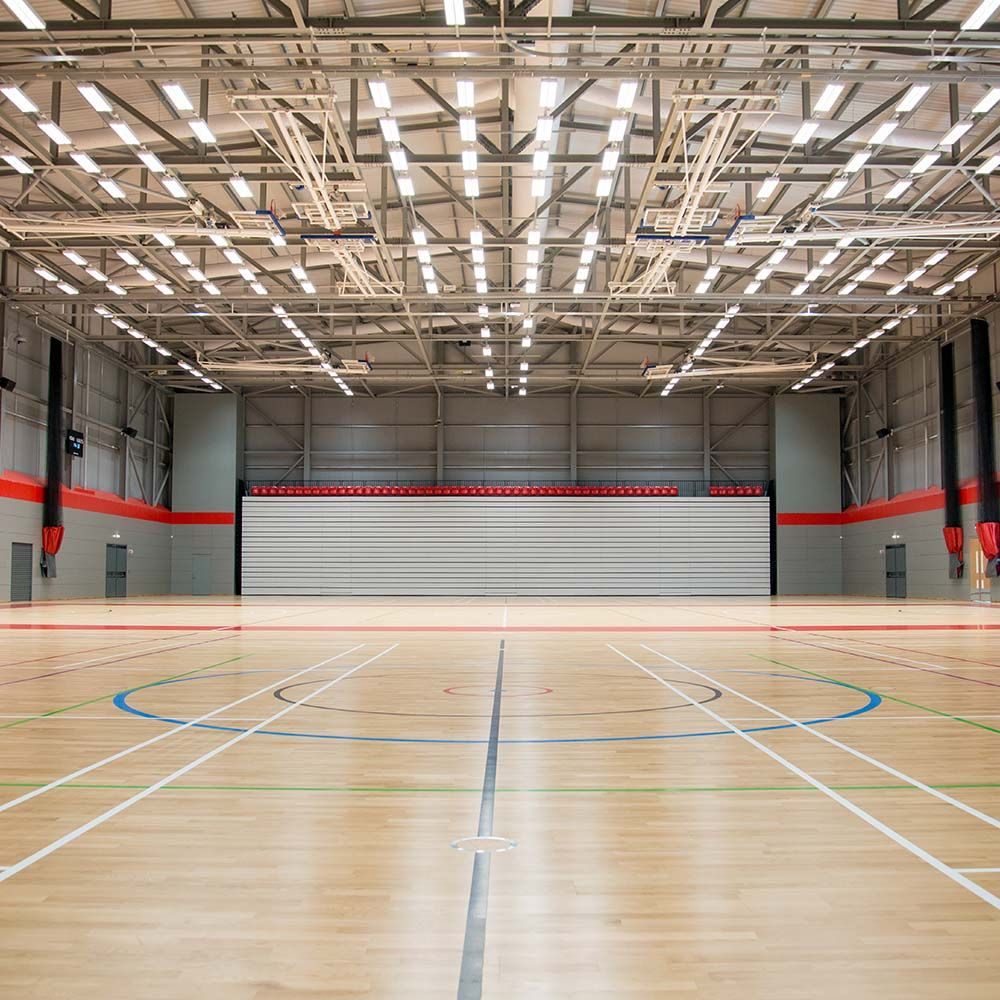 Roping Arena Lights: University Of Essex
