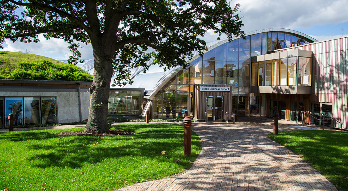 Our Essex Business School is the first zero-carbon business school in the UK