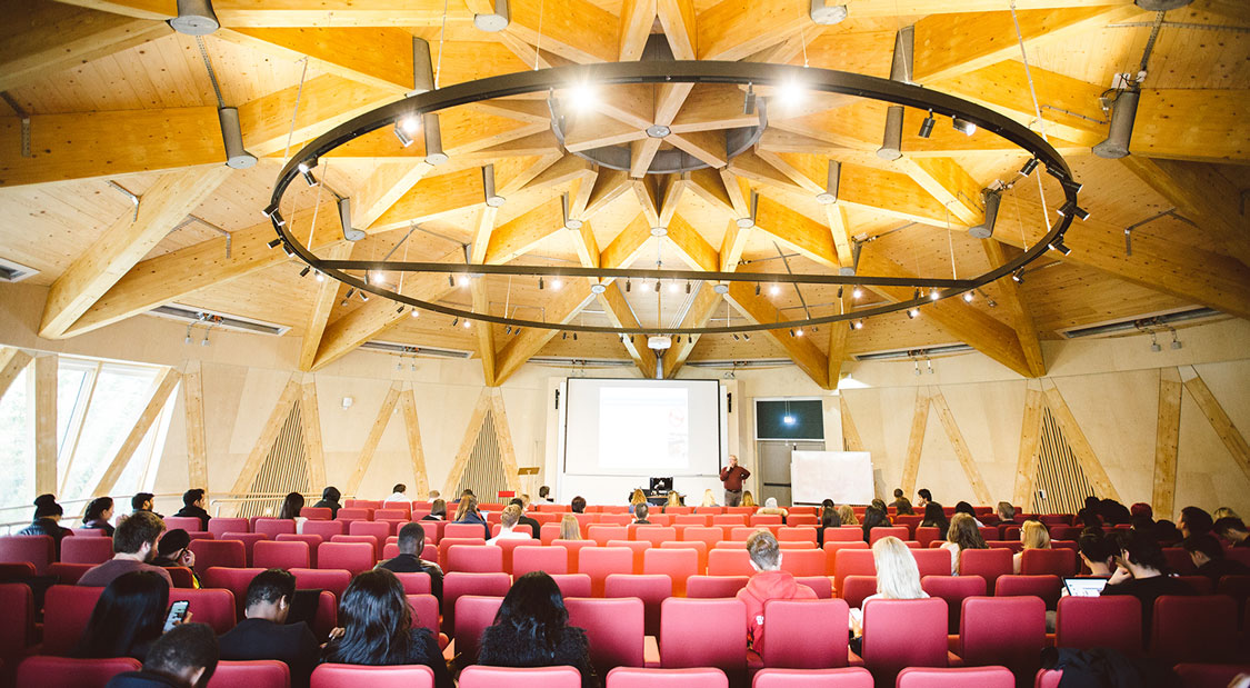 The architecture in the Essex Business School is sure to inspire you