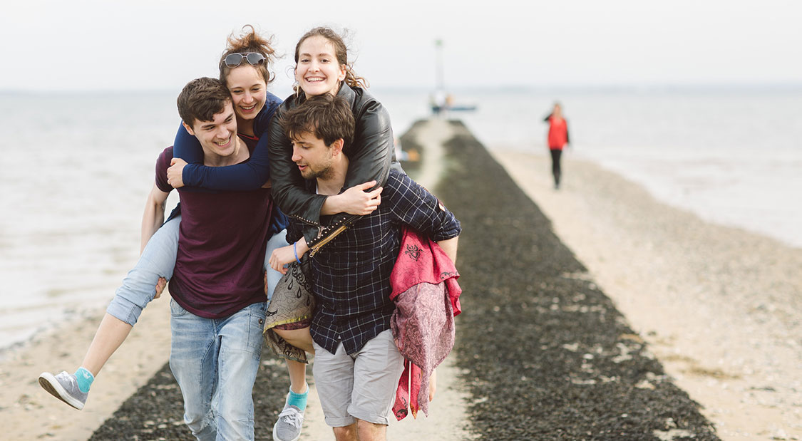 With 7 miles of award-winning coastline on your doorstep and London just a stone's throw away, our Southend students have the best of both worlds