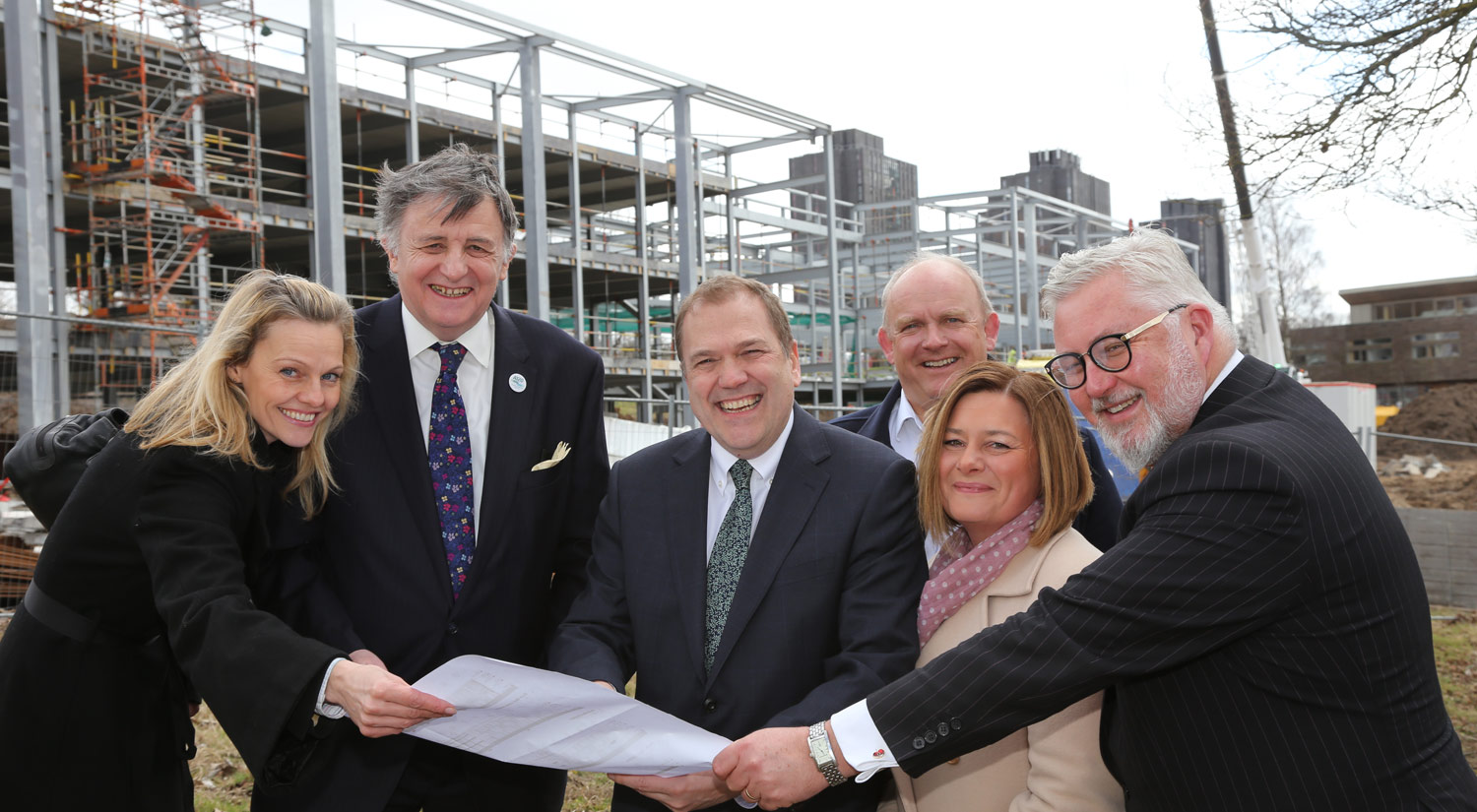 Topping out for the Innovation Centre