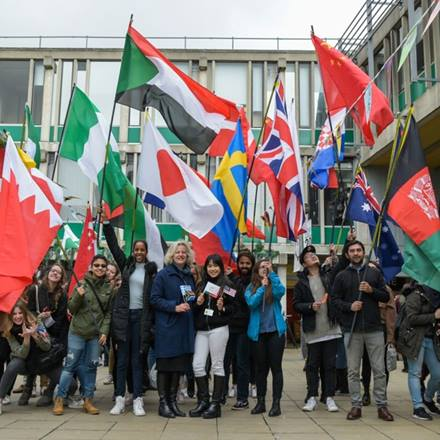 International students at Essex