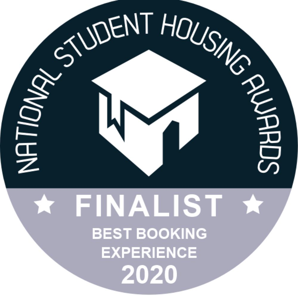 Student housing awards logo - best booking experience