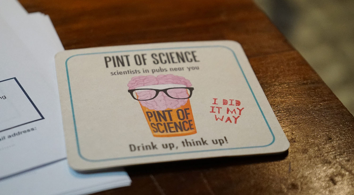 Pint of Science takes place in pubs and bars across Colchester