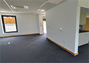 The interior of the ground floor in Unit Blue 3, Parkside Office Village